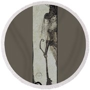 Bewitched Round Beach Towel