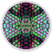 Bewitched Pattern Three Round Beach Towel