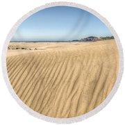 Beyond The Dunes Round Beach Towel