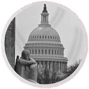 Beyond The Government Round Beach Towel