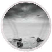 Beyond The Horizon Round Beach Towel