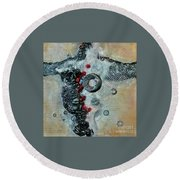 Beyond The Obvious Round Beach Towel by Phyllis Howard