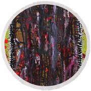 Beyond The Reflection Round Beach Towel
