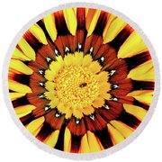 Beyond The Surface Round Beach Towel