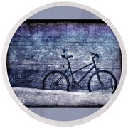 Bicycle Round Beach Towel