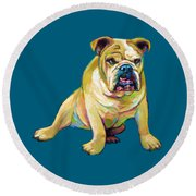 Big Boy Round Beach Towel