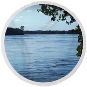 Big River Round Beach Towel