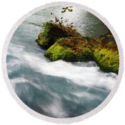 Big Spring Branch 2 Round Beach Towel