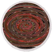 Big Tree Abstract  Round Beach Towel