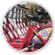Bikes For Rent Round Beach Towel