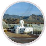 Biosphere 2, Arizona Round Beach Towel