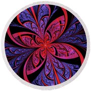 Bipolar Round Beach Towel