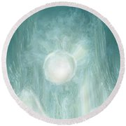 Bird Of Elysian Round Beach Towel