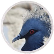 Bird Round Beach Towel