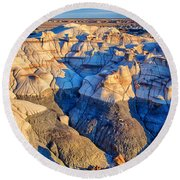 Bisti Badlands 10 Round Beach Towel