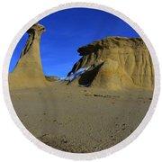Bisti Badlands 2 Round Beach Towel