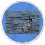 Blackduck Takeoff Run Round Beach Towel