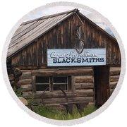 Blacksmiths Round Beach Towel