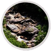 Blackwater Canyon #4 Round Beach Towel