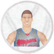 Blake Griffin Round Beach Towel