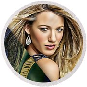 Blake Lively Collection Round Beach Towel