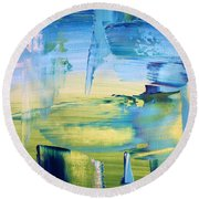 Bleen Round Beach Towel