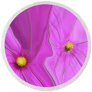 Blended Round Beach Towel
