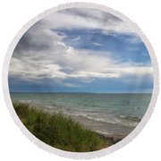 Blessed Round Beach Towel
