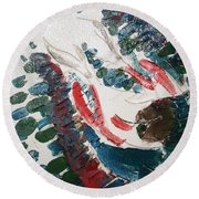 Blessings - Tile Round Beach Towel