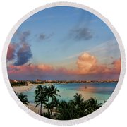 Bliss V2 Round Beach Towel