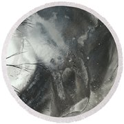 Blood Of The Moon 3 By Madart Round Beach Towel