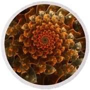 Bloom Of Beauty Round Beach Towel