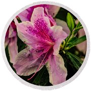 Blooming Wet Round Beach Towel