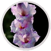 Blooms On A Stick Round Beach Towel