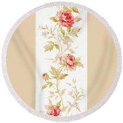 Blossom Series No.2 Round Beach Towel