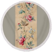Blossom Series No.4 Round Beach Towel