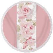 Blossom Series No.5 Round Beach Towel