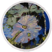 Blu II Round Beach Towel