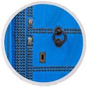 Blue Door Accents Round Beach Towel