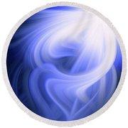 Blue Fiber 0610 Round Beach Towel