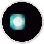 Moon Light Round Beach Towel