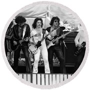 Blue Oyster Cult Round Beach Towel