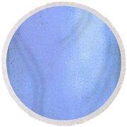 Blue Pallet Round Beach Towel