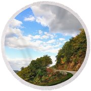Blue Ridge Parkway, Buena Vista Virginia 6 Round Beach Towel
