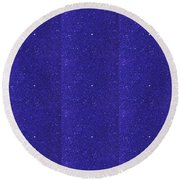 Blue Sparkle Shade Texture Color Tone Pattern Created By Artist Navinjoshi At Fineartamerica.com Ele Round Beach Towel