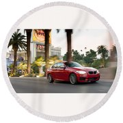 Bmw M235i Coupe Round Beach Towel