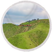 Bnsf7492 2 Round Beach Towel