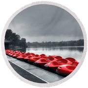 Boat Hire Round Beach Towel