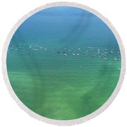 Boating Life Round Beach Towel