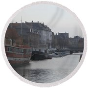 Copenhagen Waterway Round Beach Towel
